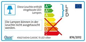 Biorb Classic 15LED Kit complet argent