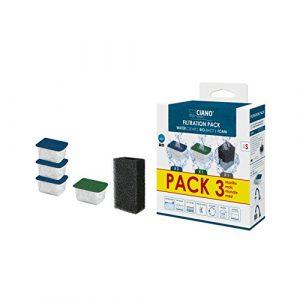 CIANO Aquarium Consumables Pack 3 Mois pour Aquariophilie Taille S