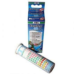 JBL EasyTest 6 en 1, Bandelettes de test pour l'analyse rapide de l'eau d'aquarium
