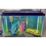 NICREW Eclairage Aquarium LED, Rampe LED pour Aquarium deau Douce, Lumiere Aquarium Plantes, 2 Mode Lampe LED pour Aquarium, 95-115 cm, 25W, 7000K