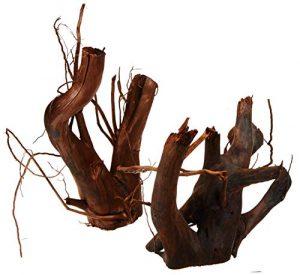 Zooschatz Stoffels Racine Moorkien 4 Bois d'Ornement Décoration pour Aquariophilie 1,5-3,5 kg 7 Pièces
