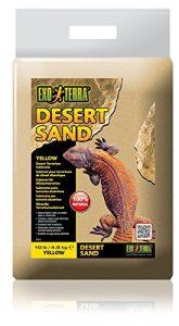 Exoterra Sable pour Reptiles Desert Jaune 4,5 kg