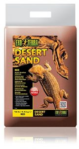 Exoterra Sable pour Reptiles Desert Rouge 4,5 kg