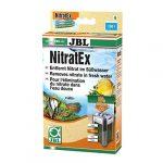 JBL NitratEx, Masse filtrante pour l'élimination rapide des nitrates dans l'eau d'aquarium 250 ml (170 g) neutralisent 9000 mg de nitrates