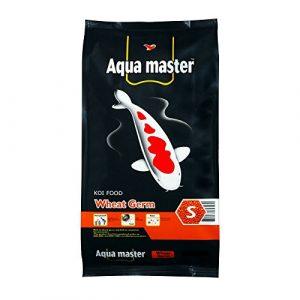 Aqua Master Wheat Germ Fish Food, 22-Pound/Bag, Large by Aqua Master