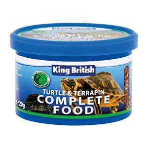 Roi Tortue Britannique Et Terrapin 200G Alimentaire (Lot de 6)
