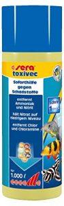 SERA Traitement de l'eau pour Aquariophilie Toxivec 250 ML