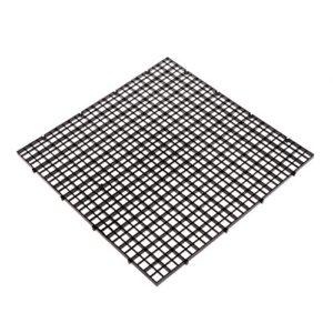Dabixx Aquarium Isolation intercalaire filtre Patition Tableau Net intercalaire support kit Ventouse, Plastique, Noir, 30 x 30 cm