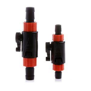 Valve avec Robinet, Pas de Tuyau 12mm à 16mm Filtre Externe Aquarium.