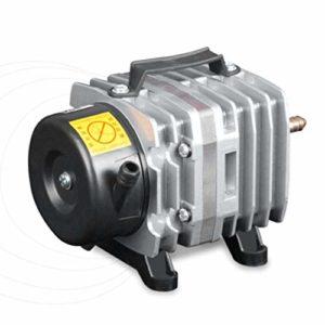 DoMoment 220V 18W 38L / Min Pompe à air d'aquarium compresseur d'air électromagnétique des fermes de réservoirs de Poissons d'oxygène de la Pompe d'étang de l'aquarium Accessoires