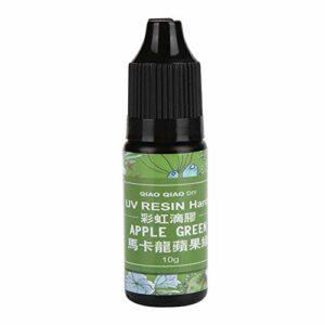 Hongzer Résine UV, résine UV époxy colorée polymérisant la Colle de Gel Solaire, Fabrication de Bijoux, Accessoires(# 8)