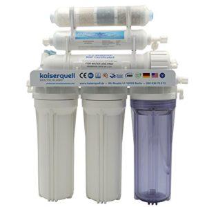 Système de filtre à eau, système à osmose, filtre à eau