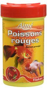Aime Nourriture Poisson Rouge Flocons 100 Ml pour Aquariophilie