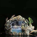 WANGYAN1886 Décoration d'eau Porte-Bonheur pour Bureau, étang à Poissons, décoration Chinoise pour Aquarium