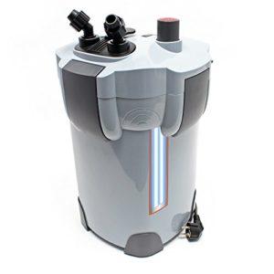 SunSun HW-404B Aquarium Bio Filtre extérieur 2000l/h avec 9W CUV 4-Phases Matériaux et Pompe