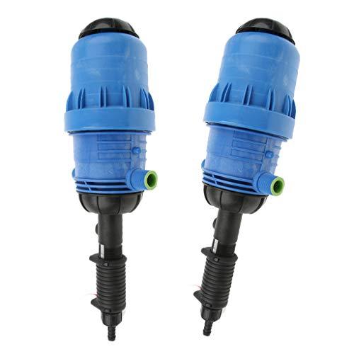 B Blesiya 2X Doseur Injecteur D'engrais Doseur Doseur Automatique Outil Bleu