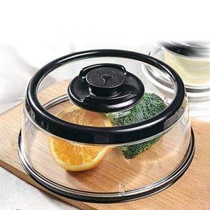 Changli – Couvercle hermétique Extra Large pour Les Aliments, Les Accessoires de Cuisine – Noir