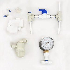 FINERFILTERS Kit de Mise à Niveau de la Pompe à Osmose Inverse