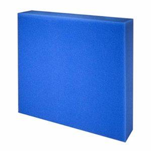 JBL Mousse filtr. bleue maille fine 505010cm