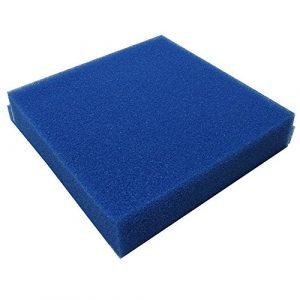 JBL Mousse filtr. bleue maille large 505010cm
