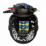 JRDDP Filtre à Poissons Seau à Filtre biochimique Équipement Nettoyage Automatique Lavage à Contre-Courant Eau Propre De l'eau Eau vive (Size : 50000L/H)