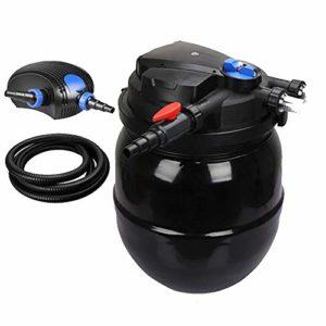 LIQIA Filtre à Poissons Seau à Filtre biochimique Équipement Nettoyage Automatique Lavage à Contre-Courant Eau Propre De l'eau Eau vive Pompe à Filtre (Size : 14000L/H)