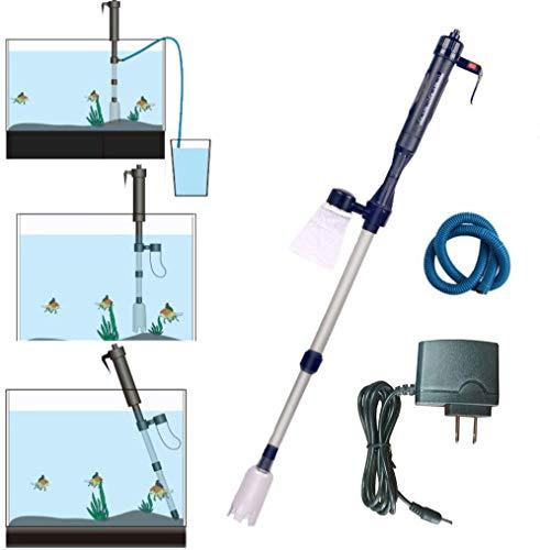 LONDAFISH Kit de Nettoyage de Gravier Automatique pour Aquarium avec Adaptateur