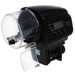 Numerique automatique Minuteur Feeder – SODIAL (R)Numerique Poisson automatique Alimentation Container Aquarium Feeder Distributeur Minuteur