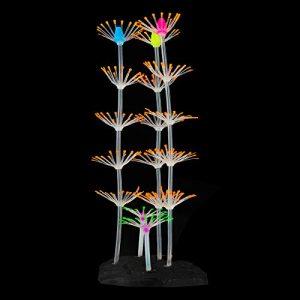 SENZEAL Corail Artificiel en Silicone et Plastique pour décoration d'aquarium