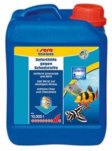 SERA toxivec – Première Aide à éliminer Les polluants pour l'eau Biologique de l'aquarium et Donc Moins de Changement d'eau