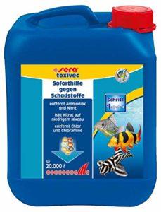 SERA Traitement de l'eau pour Aquariophilie Toxivec 5 L