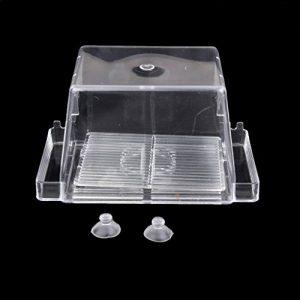 Sharplace Boîte de Reproduction Aquarium Pondoir Isoloir Ecloserie Double-Couche