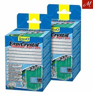 Tetra Lot de 2x EasyCrystal Filter Pack C250/300avec Charbon Actif, Lot de 3