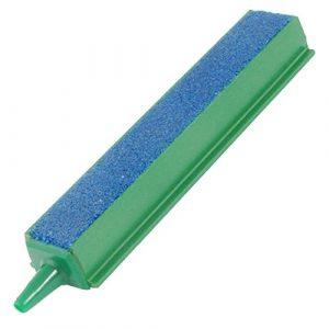 WOVELOT Air Stone 4 Cadre en Plastique pour Aquarium Vert/Bleu