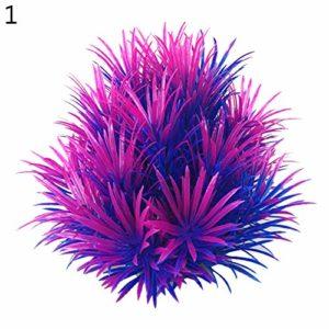 YUnnuopromi Plante submersible artificielle pour aquarium Couleur 1#