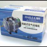Les compresseurs à piston ACO 388D comme pompe d'aération pour les bassins de jardin