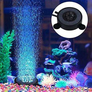 Uonlytech Lot de 2 lampes de plongée à LED étanches pour aquarium 6 LED (fond)