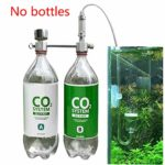 Hehsd0 Diffuseur de CO2 pour animaux domestiques en alliage d'aluminium Réglage du débit d'air Poisson professionnel pour plantes DIY Système d'aquarium