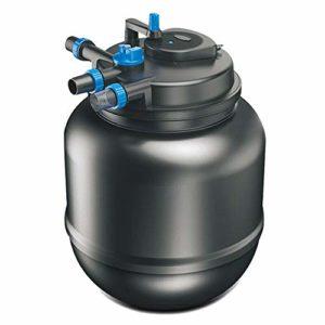 LIQIA Filtre à poissons Grand Externe Seau filtre Système de traitement de l'eau Filtrage multiple Purification efficace de l'eau Lampe germicide intégrée En plus de la désodorisation verte Pompe à fi
