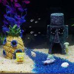PLUS PO Decoration Aquarium Deco Aquarium Fish Tank Rock Ornements Aquarium Accessoire Fish Tank Accessoires Ornements Poissons Aquarium Accessoires Pineapple 2