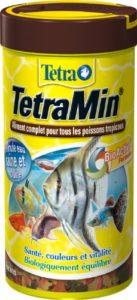 TetraMin en Flocons – Aliment Premium Complet pour Poissons Tropicaux de Surface – Favorise la Croissance la Santé et la Longévité – Renforce la Couleur – 250 ml