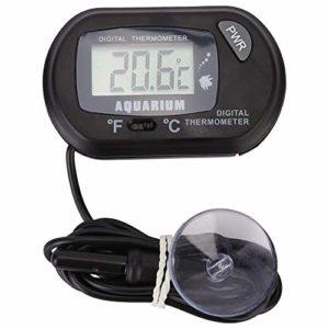 Unibell -50 ℃ ∽ 70 ℃ Aquarium écran LCD température Thermomètre Aquarium Eau Thermomètres