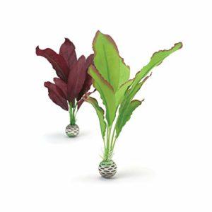 biOrb Plante en Soie Moyenne pour Aquarium Vert/Violet