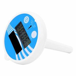 Gojiny Thermomètre à Eau Mini Thermomètre à Eau Flottant Durable pour Aquarium D'aquarium D'aquarium