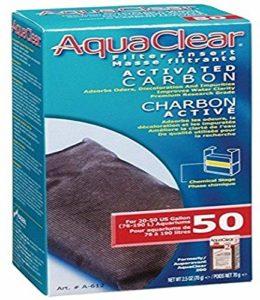 RC Hagen A612 AquaClear 50 charbon actif, f-vrier 2 – 5 oz,