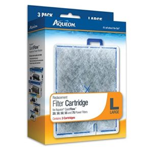 Aqueon Lot de 3 Cartouches filtrantes 06087 – Taille L