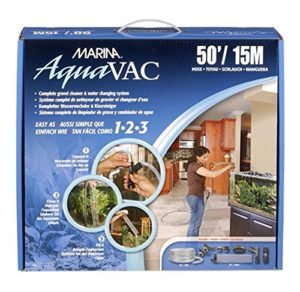 Marina AquaVac Changeur d'Eau avec Tuyau pour Aquariophilie 15,2 m