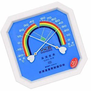 MILISTEN Thermomètre Analogique Hygromètre Température Intérieure Humidité Moniteur Jauge Testeur Checter pour Industrie Mécanique Humidité Température Mètre