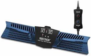 Réchauffeurs d'aquarium d'intérieur Intelligent à fréquence Variable, Thermostat Automatique, médical à Onde Lumineuse LED, réglage à Trois Modes, avec Thermostat à télécommande numérique indépendant