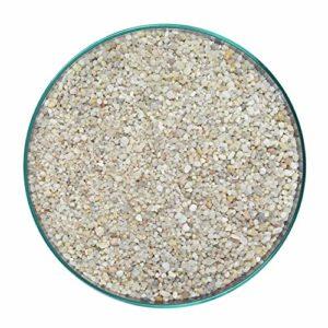 Retne Naturel Gravier à quartz pour aquarium 1 à 3 mm 10 kg